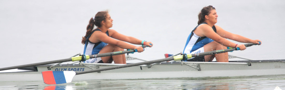 80 Panhellenic Races 2014 Crew 2X  Maria - Despina 1st place Semi-final