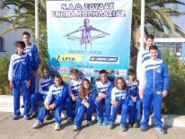 Πανελλήνιοι Διασιλογικοι Αγώνες Κωπηλασίας ΣΑΛΑΜΙΝΕΙΑ 2014 :: Ομάδα Ν.Α.Ο. Σούδας