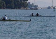 7th Panhellenic Development Races in Corfu July 2012  :: 2nd Place at double sculls by George Hatzikostas and Bill Hatzidakis
