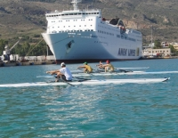 Nautical Athletic Sports Club of Souda :: Rowing in Souda 2011