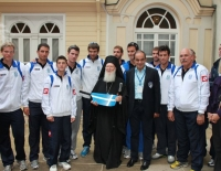 Two Nations Cup Hellas - Turkey 2011 National Team :: Κontstantinoupolis 2011 with the Patriarch